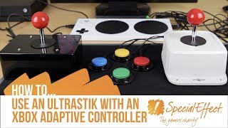 How to use an UltraStik with an Xbox Adaptive Controller