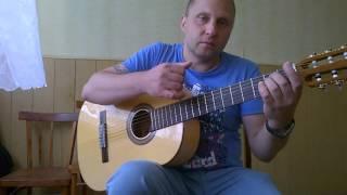Уроки гитары.В.Цой-Последний герой.Вступление
