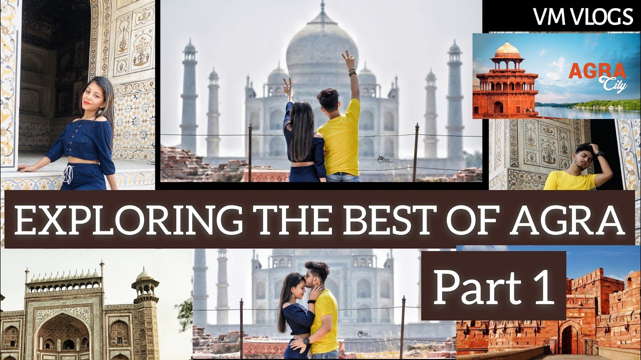 Download Travelled And Covered All the Places of Agra within 24 Hours | Agra Tourist Places || Vm Vlogs