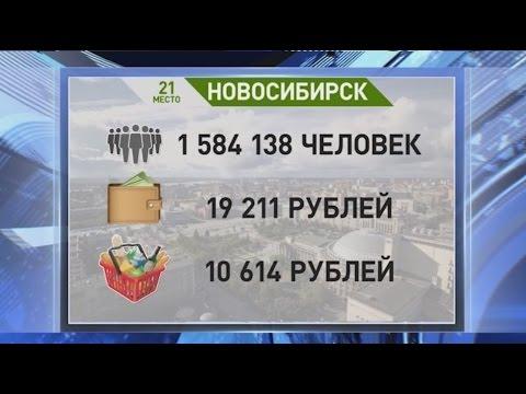В Новосибирске самые доступные цены на продукты в Сибири