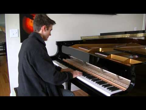 Miley Cyrus: Wrecking Ball (Elliott Spenner Piano Cover)