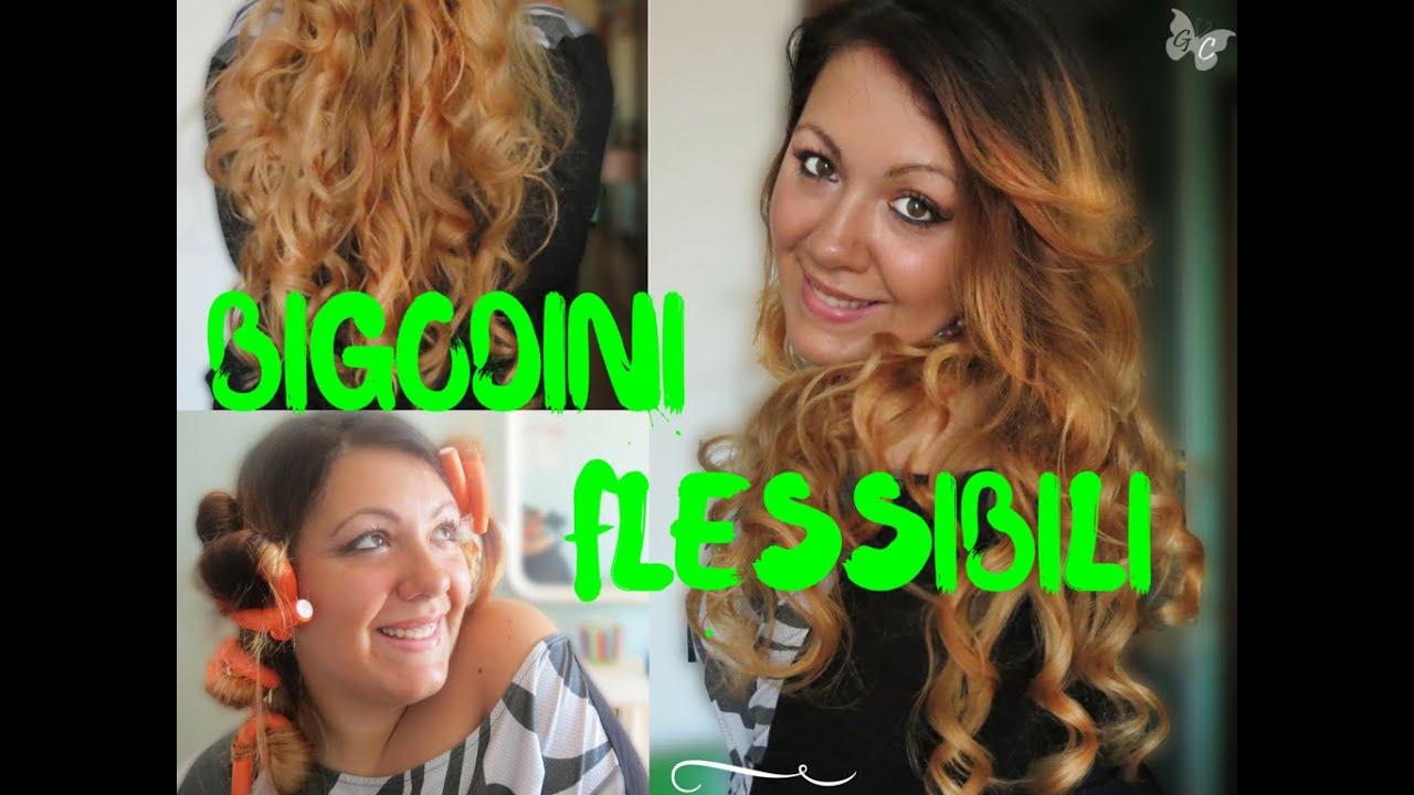Bigodini FLESSIBILI per capelli MOSSI  Proviamoli insieme! Hair Tutorial 218a74d32274