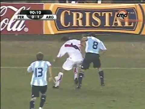 GOL DE FANO ANTE ARGENTINA CON JUGADAZA DEL LOCO VARGAS (HD)