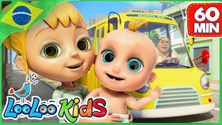 As Rodas do Ônibus - Canções para Crianças Para Crianças - LooLoo Kids Português