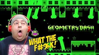 THIS GAME F#%KED MY EYE UP!! LMAO [GEOMETRY DASH 2.0]