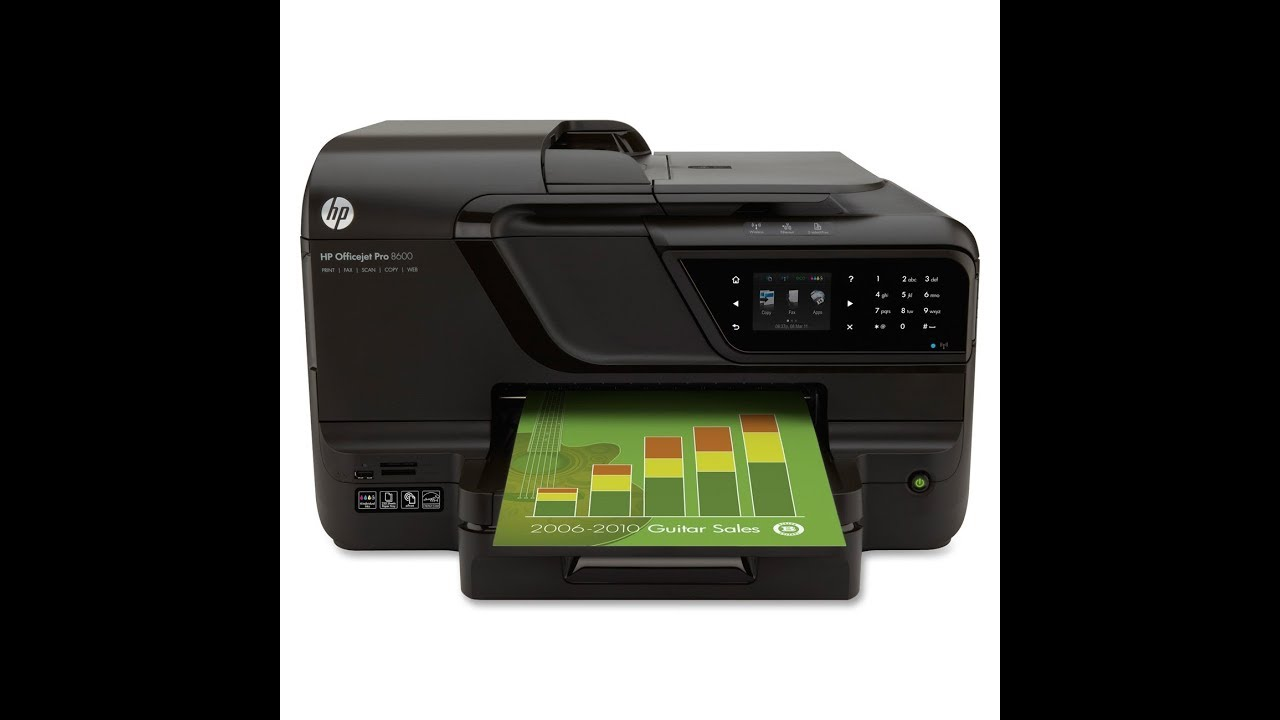 Hp Officejet Pro 8600 - How To Clean Printhead- Ink System Failure-Not  Printing Black⬇️Repair Kit⬇️