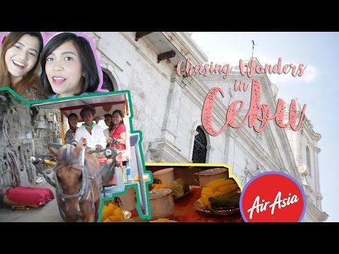 Chasing Wonders in Cebu | AirAsiaPH | XanaVlogs