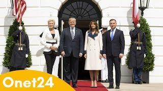 Duda i Trump o bazach USA w Polsce | Onet24