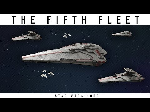 The New Republics Powerful FIFTH FLEET | Star Wars Legends Lore