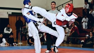 Awesome TAEKWONDO Kicks Knockout - Martial Arts TV