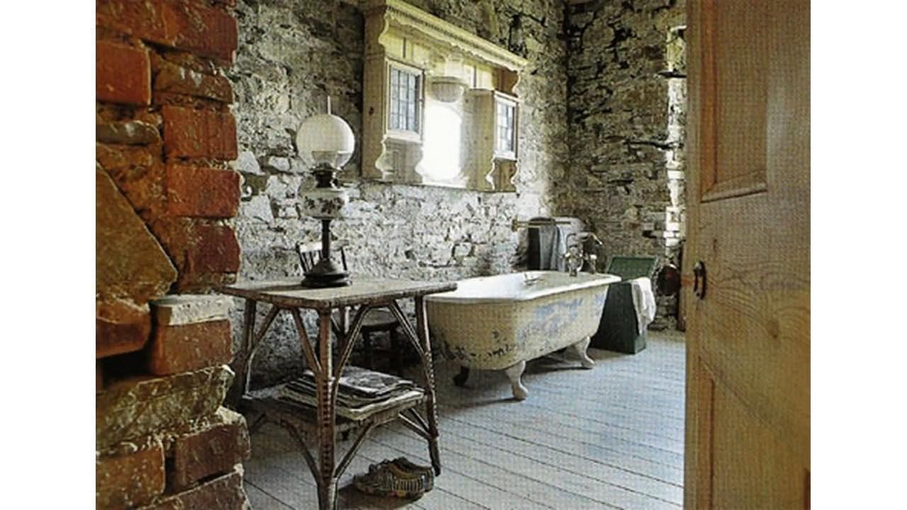 Ideas de diseño de cuarto de baño vintage
