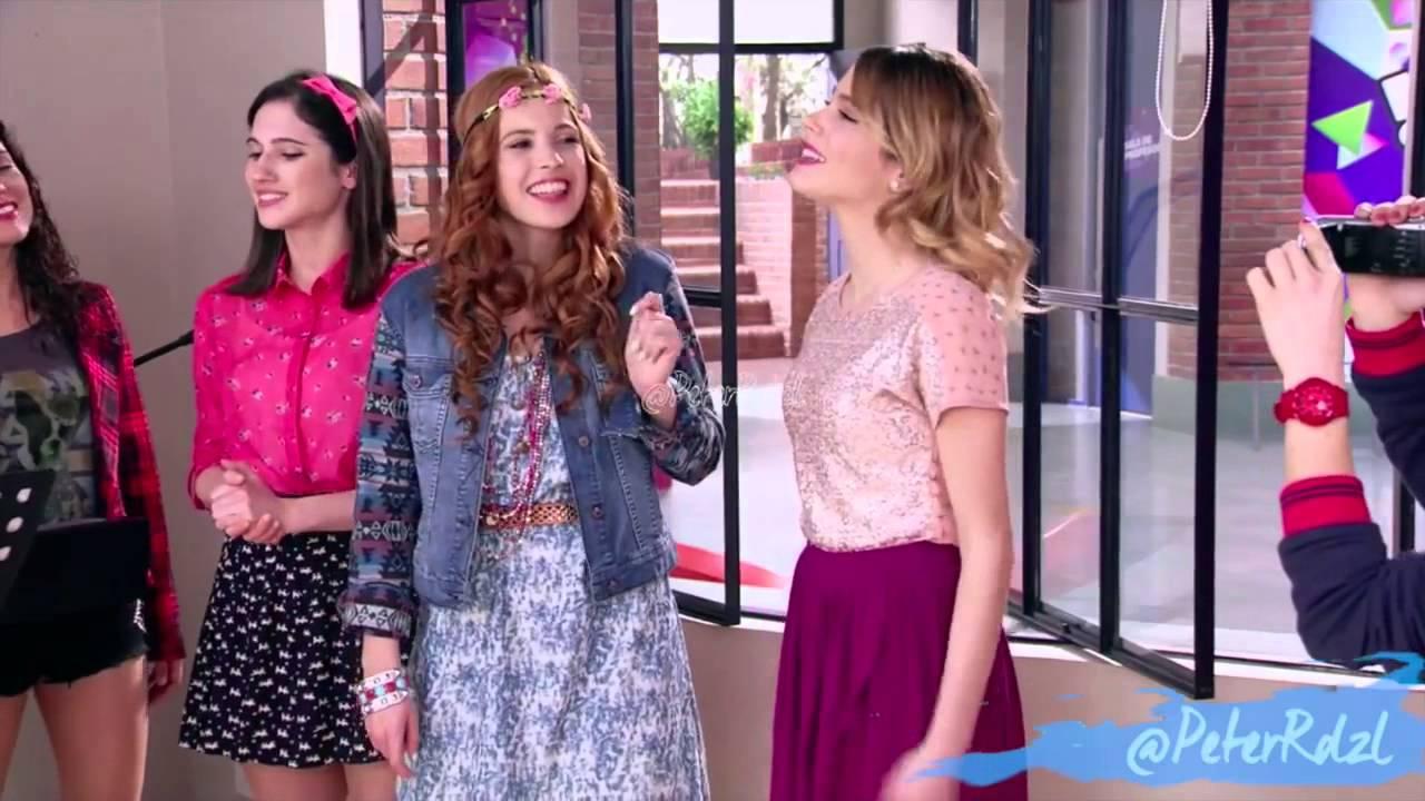 Violetta 3 les filles chante supercreativa ep 53 youtube - Jeux de fille de violetta ...