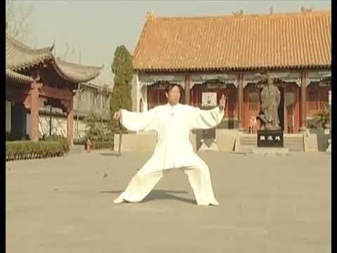 西安style_陳式太極拳老架一路(前): 王西安 - Chen Style Taiji Old Frame Routine 1 ...