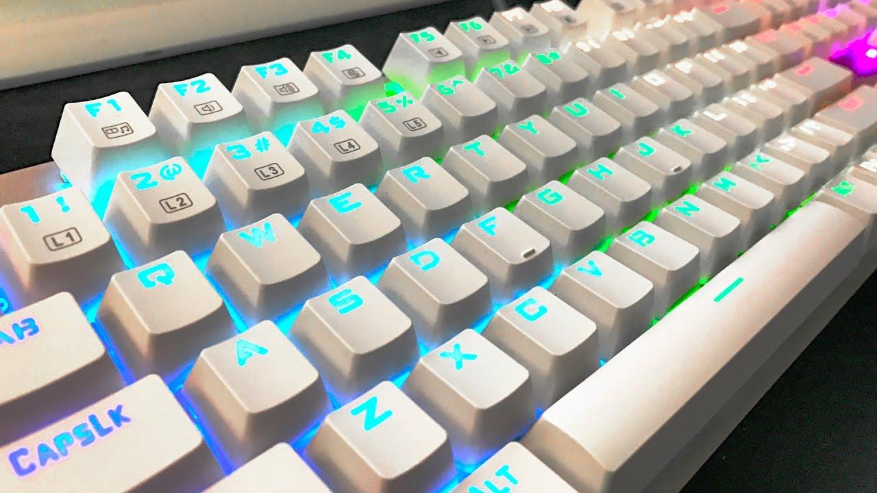 CHEAP RGB Mechanical Gaming Keyboard Under $60!