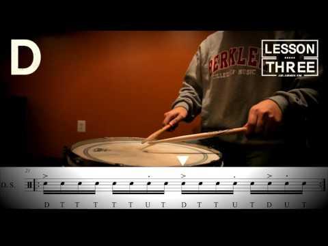 Jud's Drum Lesson Three Phrase #3(주드 킴)