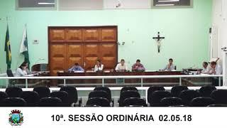 Sessão da Câmara 02.05.18