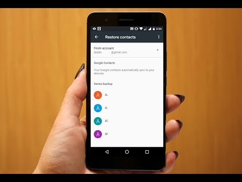 How To Restore Deleted Contacts In Android Phone