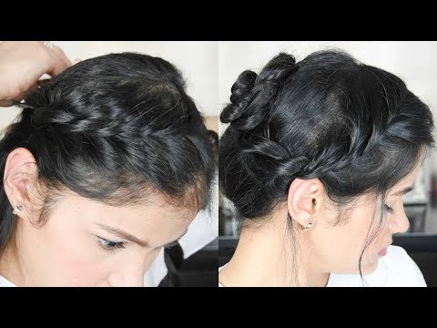 3 Easy Everyday Summer Hairstyle | How To Do Twisted Braid In Hindi