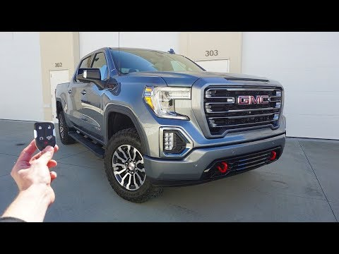 2019 GMC Sierra AT4 Crew Cab: Start Up, Walkaround, Test Drive and Review