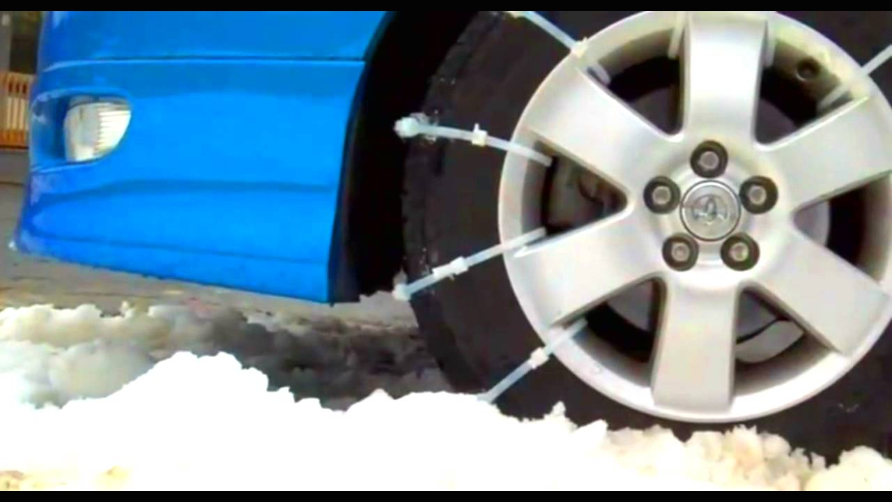 Zip Tie Tire Traction Dealer Chains Alternative Zip Grip Go Youtube