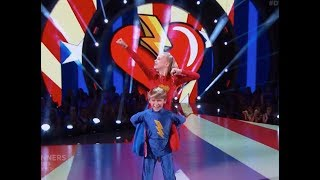 Hudson West & Kameron Couch - Dancing With The Stars Juniors (DWTS Juniors) Episode 2