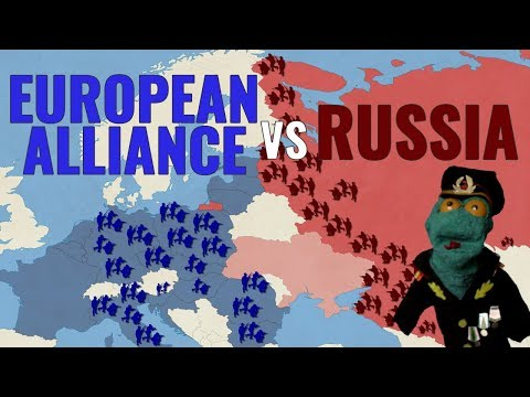 European Alliance vs Russia: Europe divided