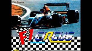 F1 Circus - OST - エフワンサーカス PC Engine
