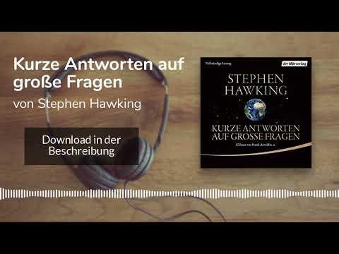 Kurze Antworten auf große Fragen YouTube Hörbuch Trailer auf Deutsch