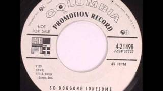 Bobby Lord - So Doggone Lonesome