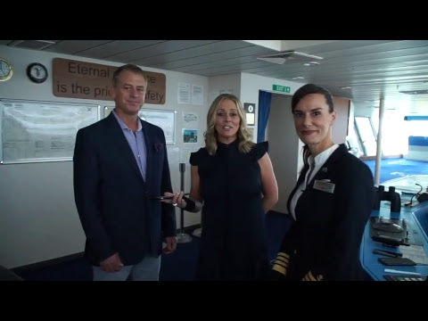 Cruise Ship Bridge Tour: Celebrity Equinox