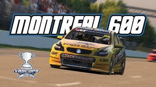 iRacing: V8SCOPS Montreal 600 - Race 2 (V8 Supercar @ Montreal)