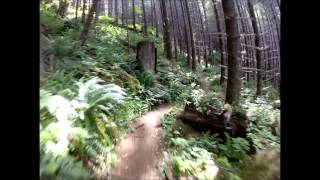 Go Pro: Mountain Biking - Oregon Storey Burn Trail Tillamook State Forest
