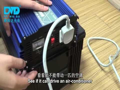 2000W 12V 220V Pure sine wave inverter power air condition