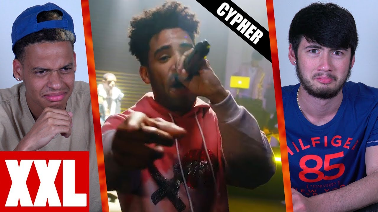 Xxl Freshman Cypher Kyle A Boogie Wit Da Hoodie And Amine Reaction