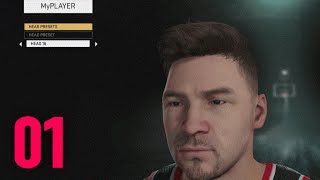 nba 2k16 my player career ep 1 player creation intro xbox one gameplay