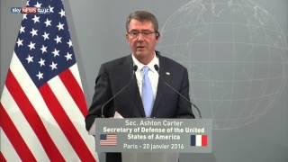 كارتر: اتفقنا مع فرنسا تسريع الخطوات للقضاء على داعش
