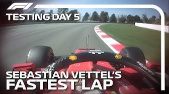 Sebastian Vettel's Fastest Lap | 2020 Pre-Season Testing, Day 5