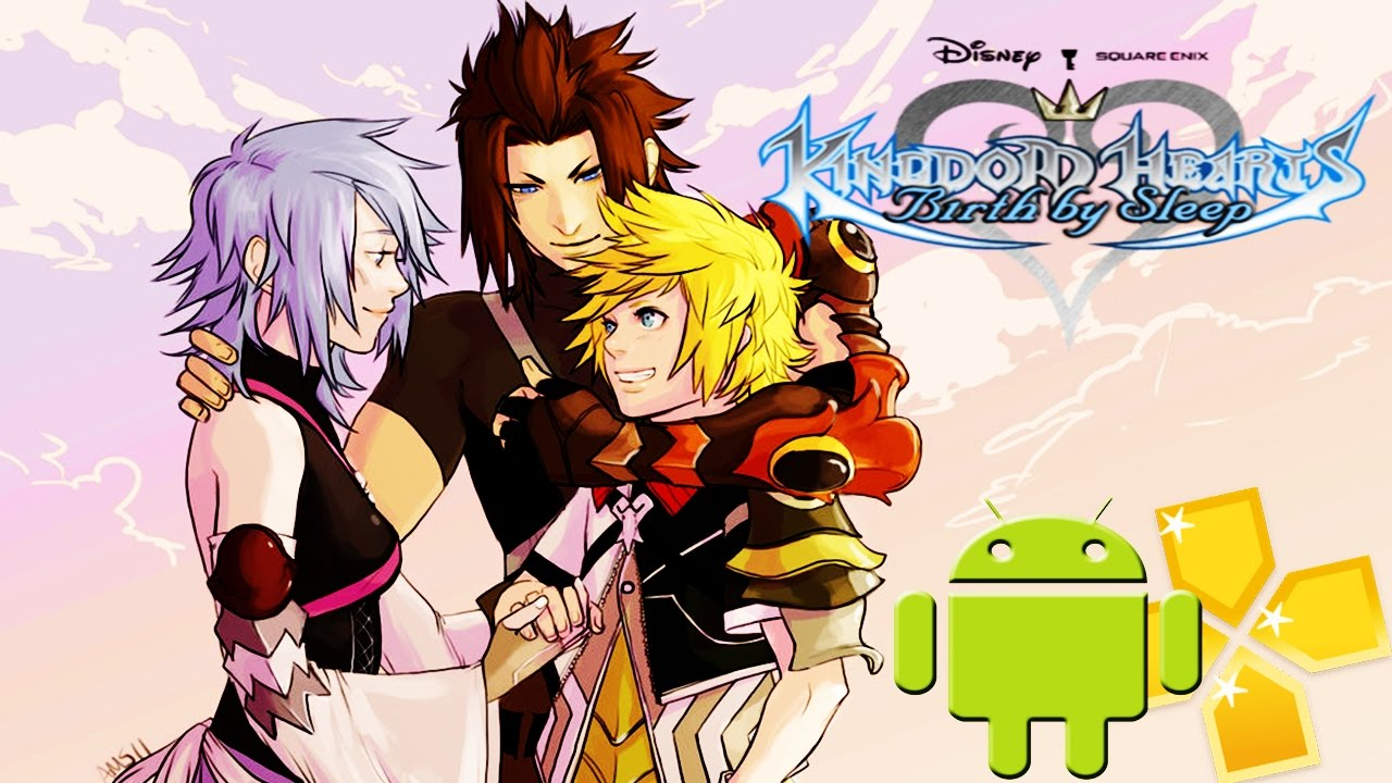 kingdom hearts birth by sleep psp iso pt br