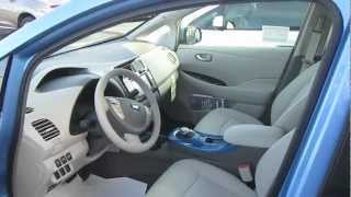 2013 NISSAN LEAF REVIEW CLOSER LOOK