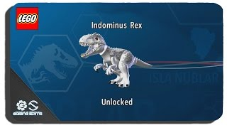 Lego Jurassic World - How To Unlock Indominus Rex Dinosaur Character Location