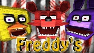 Minecraft Mods Пять ночей с Фредди в майнкрафте Five Nights at Freddy s Mod 1.7.10
