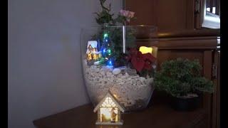 GARDEN 122 - Mini ogródki w szklanych naczyniach. Świąteczne dekoracje.