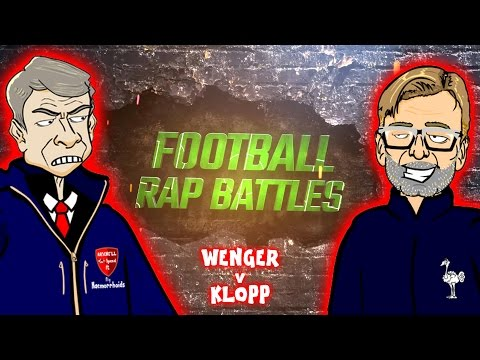 Wenger vs Klopp: FOOTBALL RAP BATTLE! (Arsenal FC vs Liverpool FC 3-4 2016 442oons)