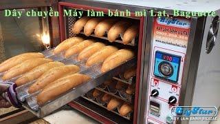 Dây chuyền làm bánh mì Việt Nam, bánh mì baguette - Máy làm bánh BigStar
