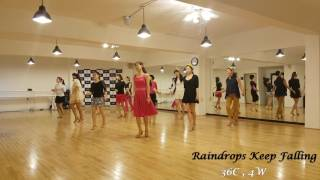 Raindrops Keep Falling Line Dance YouTube Videos