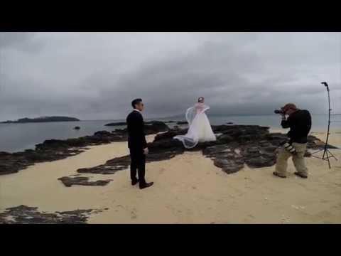 Behind the scenes Pre wedding photo shoot in Okinawa #4
