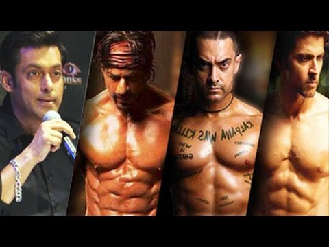 Salman Khan MOCKS Hrithik Roshan & Shahrukh Khan on Bigg Boss 8