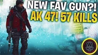 MY Favourite AR! AK47 57 Kills Last Stand Gameplay (The Division 1.8)