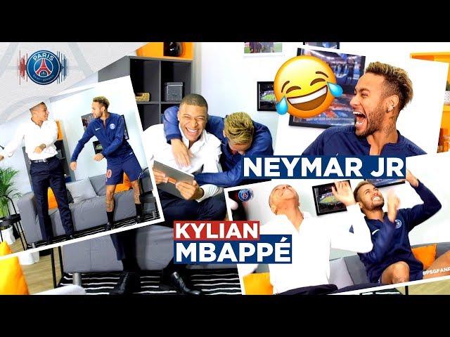 #PSGFANROOM avec Orange - Un duo de choc : Neymar Jr 🇧🇷 et Kylian Mbappé 🇫🇷