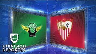 Akhisar 2-3 Sevilla - GOLES Y RESUMEN - Grupo J - UEFA Europa League